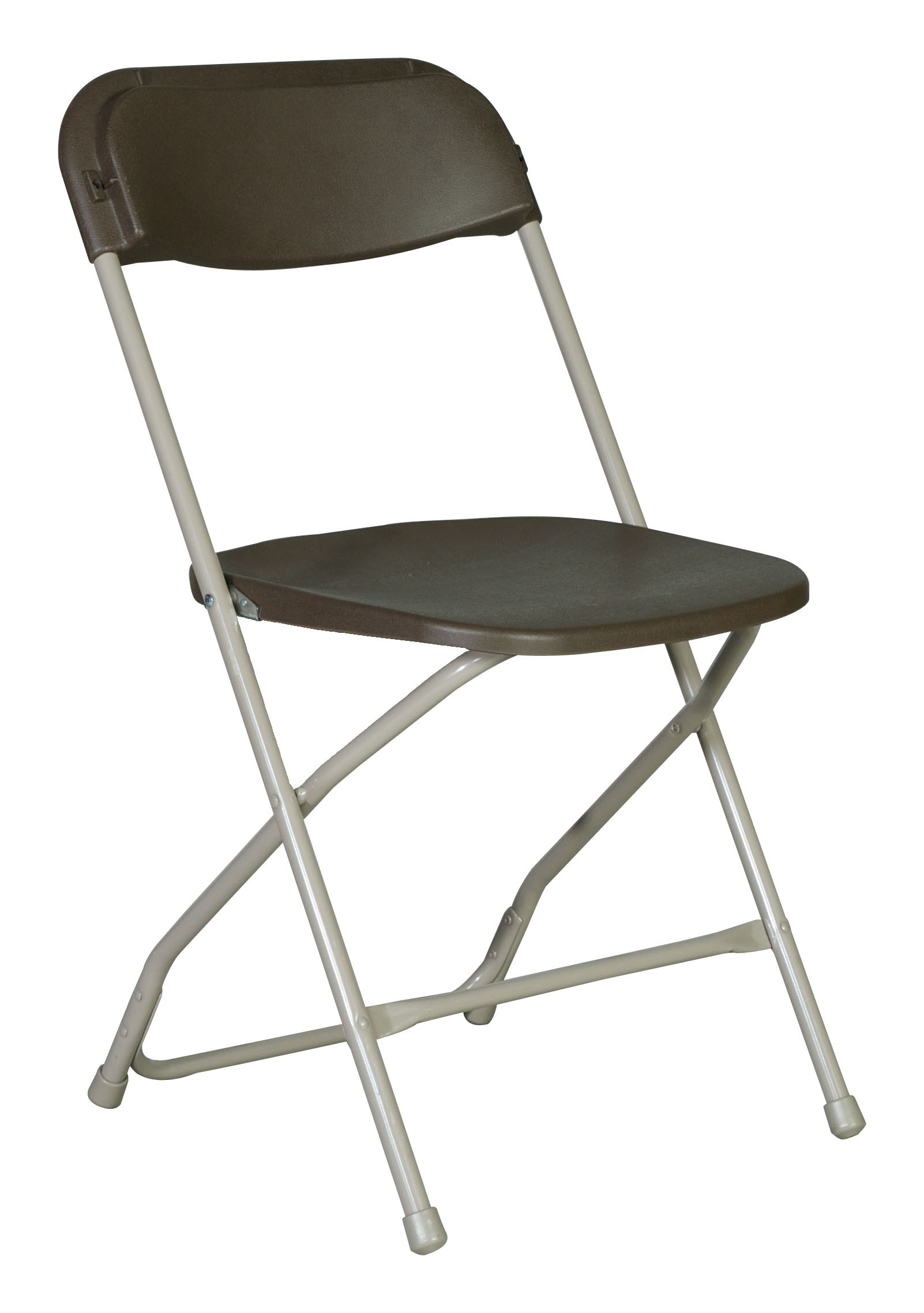 Brown Plastic Folding Chair A Grand Affair Rentals
